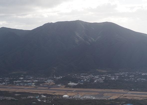 牧場から三原山